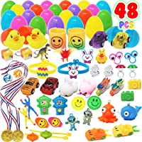 Toy Prefilled Easter Eggs 48 Pieces 2 1 4 Inch Filled With Mini