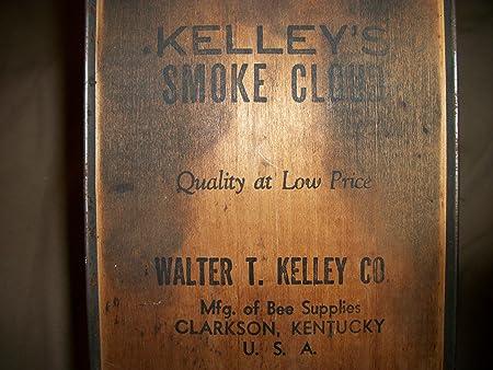 VINTAGE WALTER T  KELLEY ANTIQUE ORIGINAL BEE FOGGER SMOKER