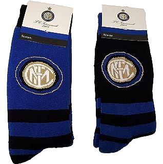 Proctor Srl Calze Antiscivolo bimbo 2 paia abbigliamento ufficiale Inter N05599