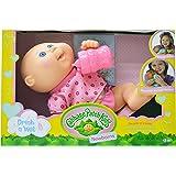 "Cabbage Patch Kids Drink N' Wet Newborn Purple Butterflies Baby Doll, 11"""