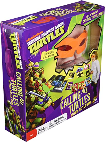 Amazon.com: Teenage Mutant Ninja Turtles Calling All ...