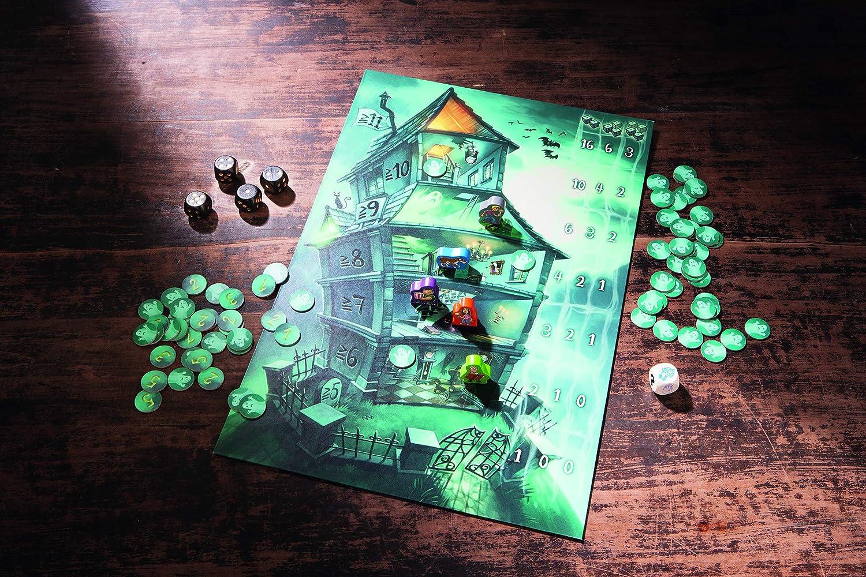 HABA 300947 - Spookies - Juego de Dados, Recogida de Puntos y de Suerte para los 8 años y más (Fabricado en Alemania): collectif: Amazon.es: Juguetes y juegos