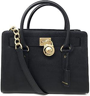 929199e18691 Amazon.com: Michael Kors Hamilton Large Saffiano Leather Satchel ...