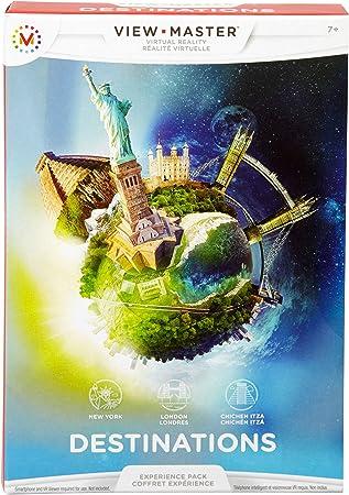 View-master - Pack experiencia: viajes (Mattel DLL69) , color/modelo surtido: Amazon.es: Juguetes y juegos