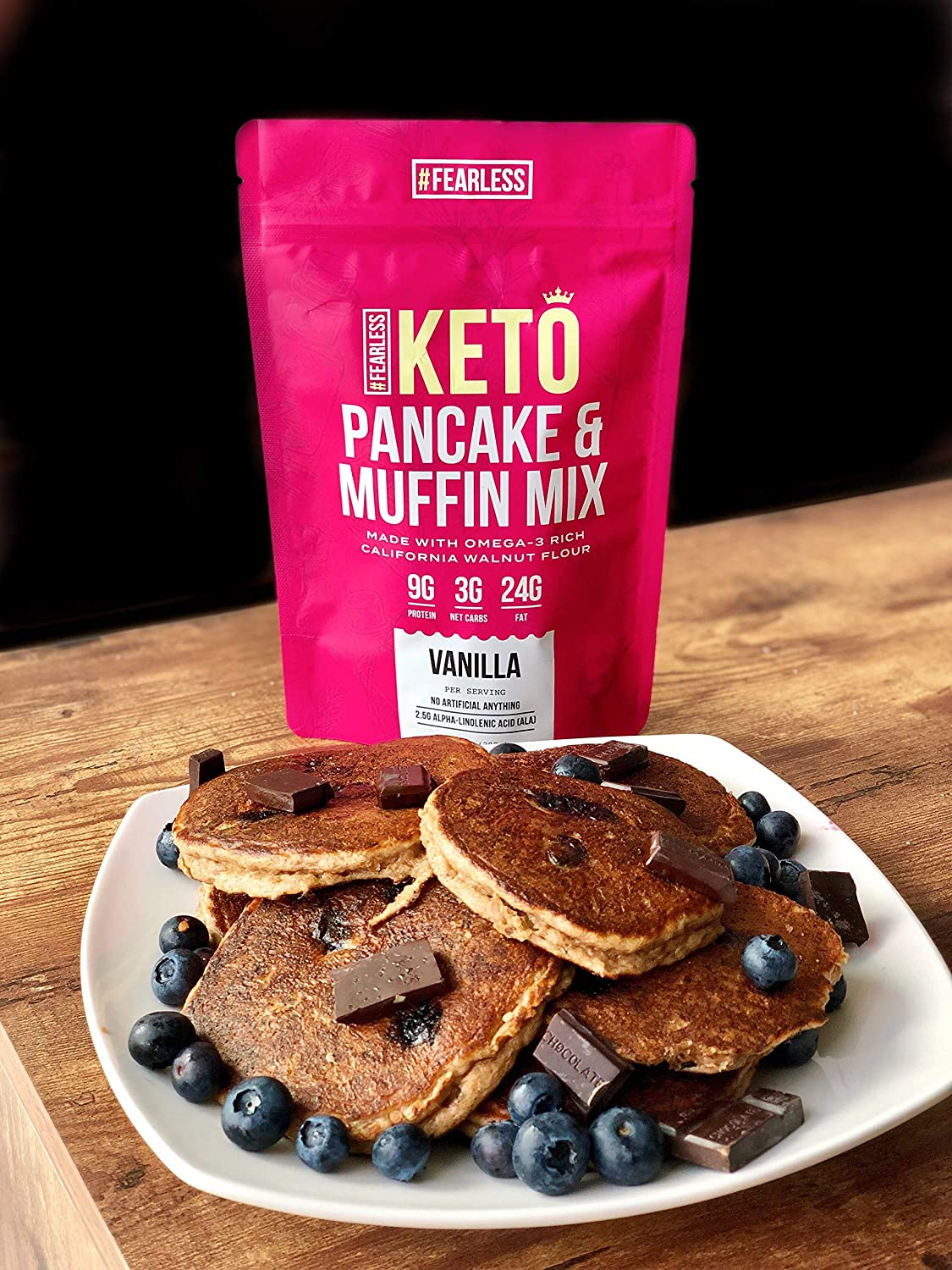 Fearless Keto Pancake & Muffin Mix – Low Carb, High Protein ...