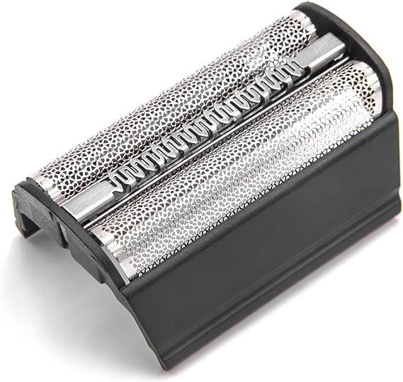 vhbw Doble lámina de afeitar con marco para máquinas de afeitar Braun Flex Integral 5000, 5005, 5010, 5015, 5311, 5312, 5314, 5315; negra: Amazon.es: Salud y cuidado personal
