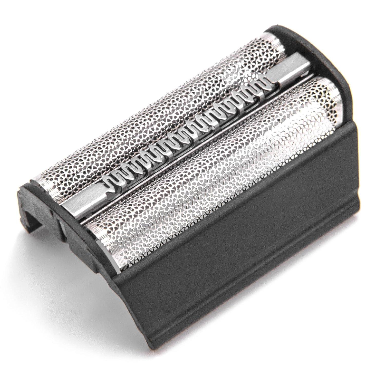 vhbw Doble lámina de Afeitar con Marco para maquinilla de Afeitar Braun Flex Inegral 5507, 5510, 5515, 5703, 5704, 5705, 5706, 5707, 6012.