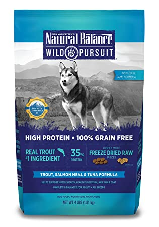 Dick Van Patten S Natural Balance Wild Pursuit Trout Salmon Meal And