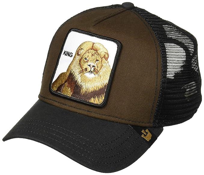 548cae2228c Goorin Bros. Mens Animal Farm Baseball Trucker Cap Baseball Cap - Brown -