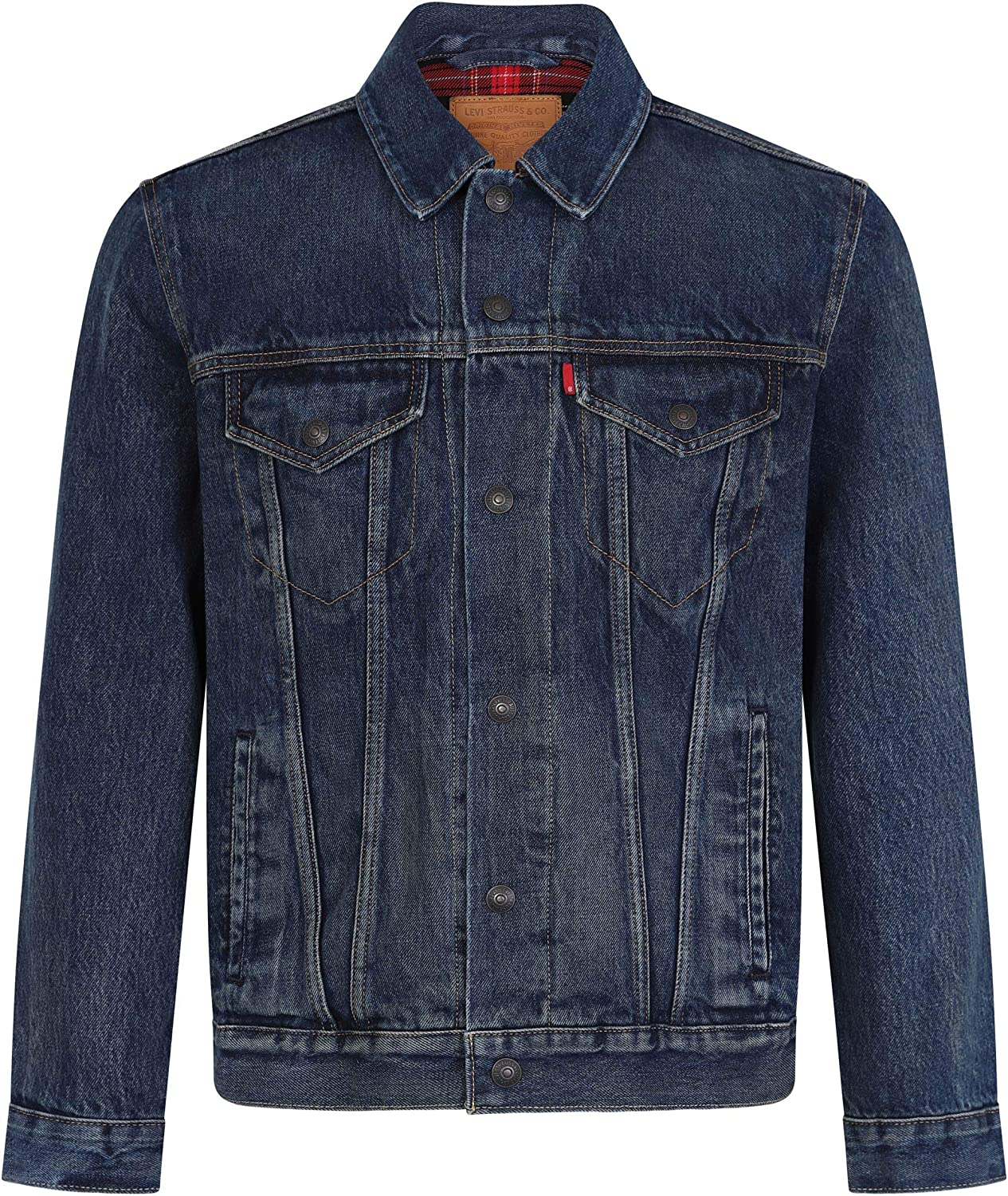 Levi's Men's Lined Trucker Jacket, Blue Levis