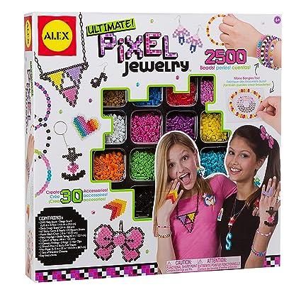Amazon alex toys do it yourself wear ultimate pixel jewelry kit alex toys do it yourself wear ultimate pixel jewelry kit solutioingenieria Images