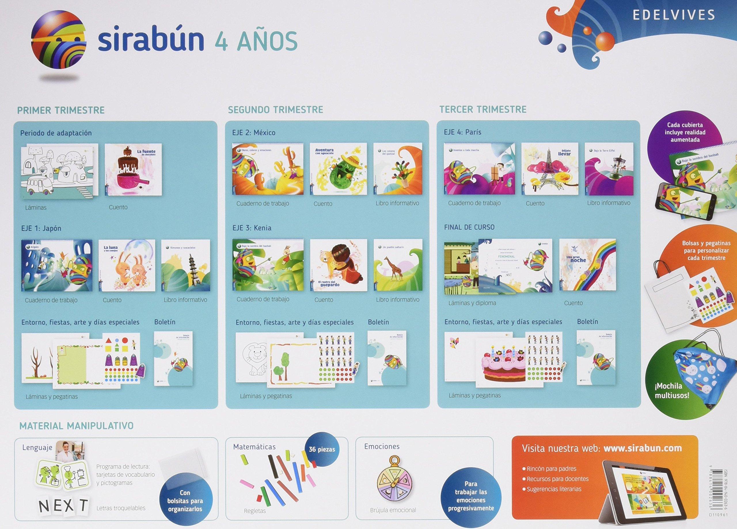 Sirabun-4 años - 9788414002636: Amazon.es: Rosa Mª Iglesias ...
