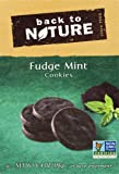 Back To Nature Non GMO Cookies, Fudge Mint Cookies, 6.4 Ounce