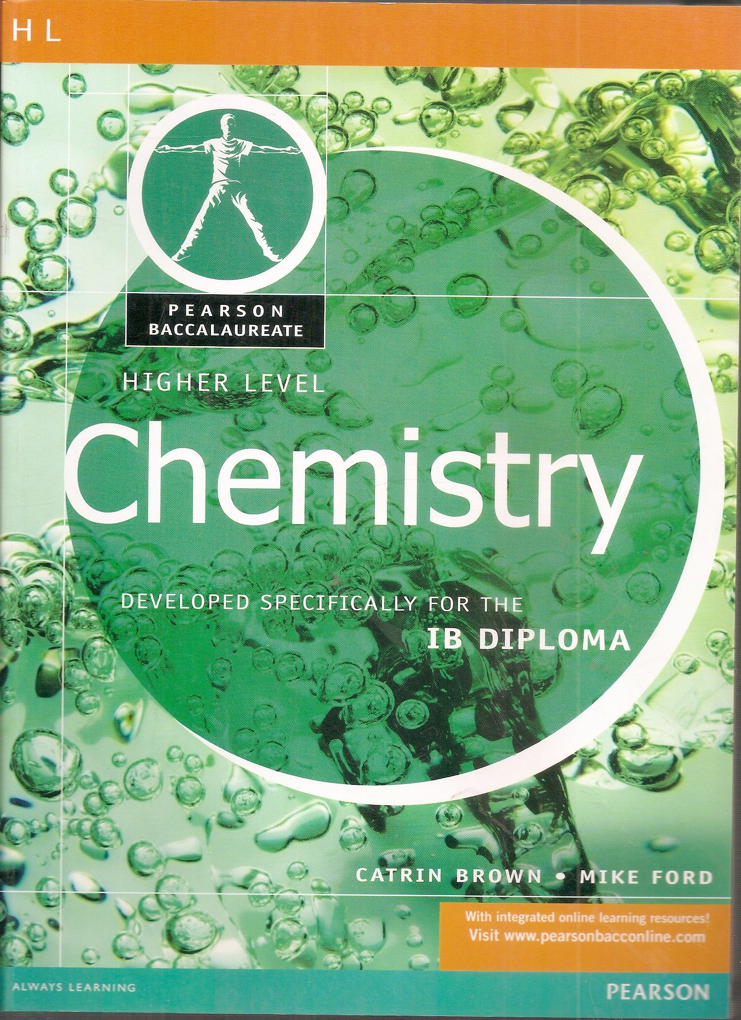 Buy pearson baccalaureate higher level chemistry for the ib diploma buy pearson baccalaureate higher level chemistry for the ib diploma pearson international baccalaureate diploma international editions book online at fandeluxe Images