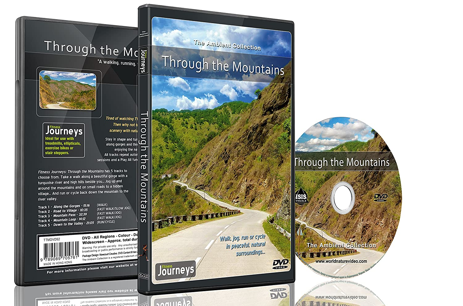 Fitness Journeys - Through the Mountains , for indoor walking, treadmill and cycling workouts The Ambient Collection Tony Helsloot