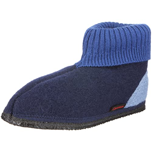 Giesswein Unisex - Children's Kramsach 10035 Slippers, Blue, ...