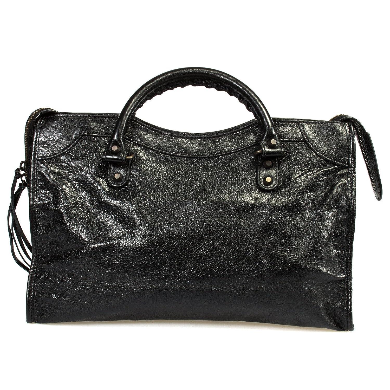 ce1ef8d0a9 Balenciaga Women's Classic City Lambskin Bag, Black, Medium: Balenciaga:  Amazon.ca: Clothing & Accessories