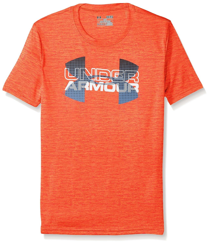 Under Armour Boys Tech Big Logo Hybrid Shirt Under Armour Apparel 1272006
