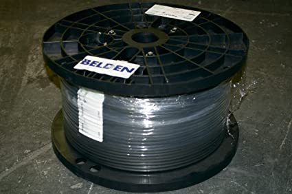 BELDEN 1695A HD/SDI 18AWG RG6 PLENUM COAX 1000 FEET BLACK