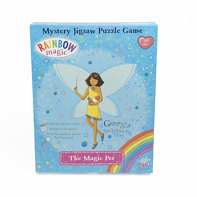 Amazon.com: Rainbow Magic Mystery Jigsaw Puzzle Game - Georgia the ...