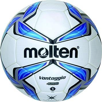 MOLTEN Fußball F5V4200 - Balón de fútbol, Color (weiß/Blau/Silber ...