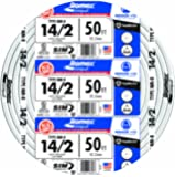 Southwire 28827422 14/2WG NMB Wire 50-Foot