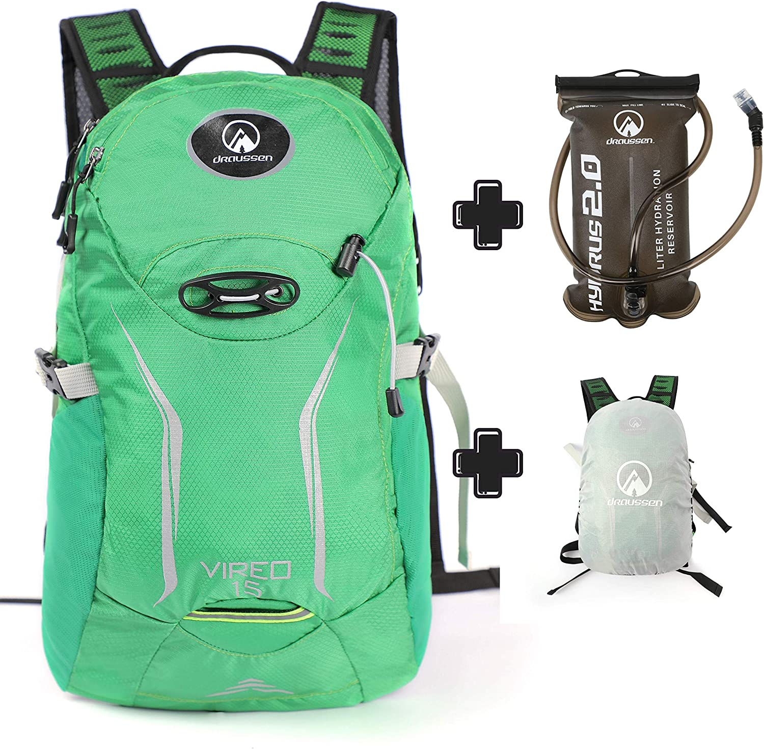 Draussen Vireo 15 15-Liter Day Hydration Pack