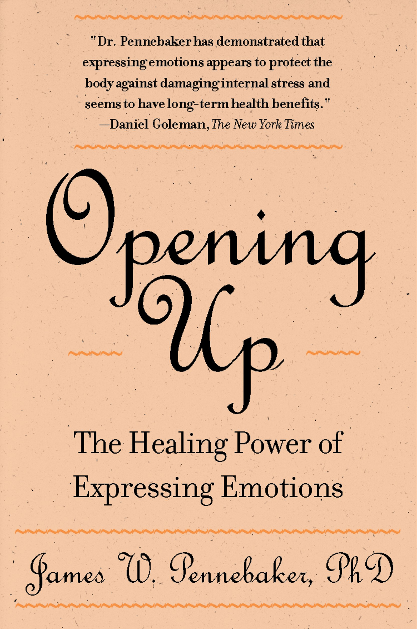 Opening Up Second Expressing Emotions