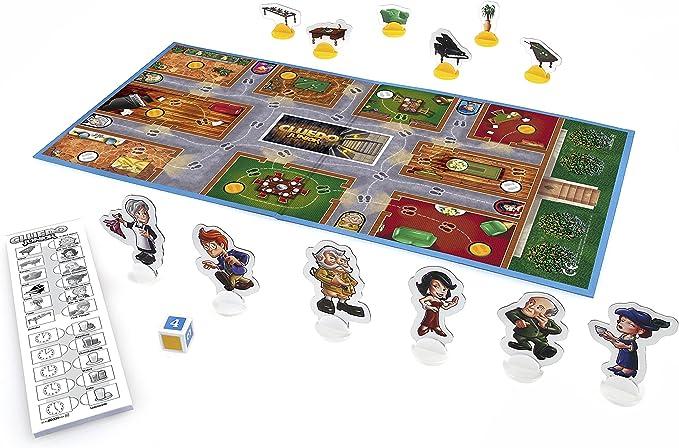 Hasbro - Cluedo Junior, El Caso de la Tarta desaparecida (B0335100) (versión Alemana): Amazon.es: Juguetes y juegos