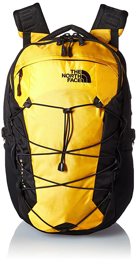Amazon.com: The North Face Borealis, Asphalt Grey Dark Heather/Citrine Yellow, OS: Travel Country Outfitters