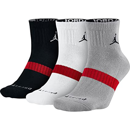buy good new cheap cheap sale Nike Jordan Drifit Low Quarter - Lot de 3 Paires de Chaussettes de Basket,  Mixte, Adulte
