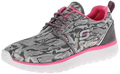 Skechers Counterpart Front Line, Women s Low-Top Sneakers, Grey (Cchp), bb48fd6f67a5