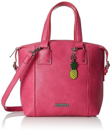 Damen Lorella Handbag Henkeltasche, Pink (Pink), 12x27x25 cm Tamaris