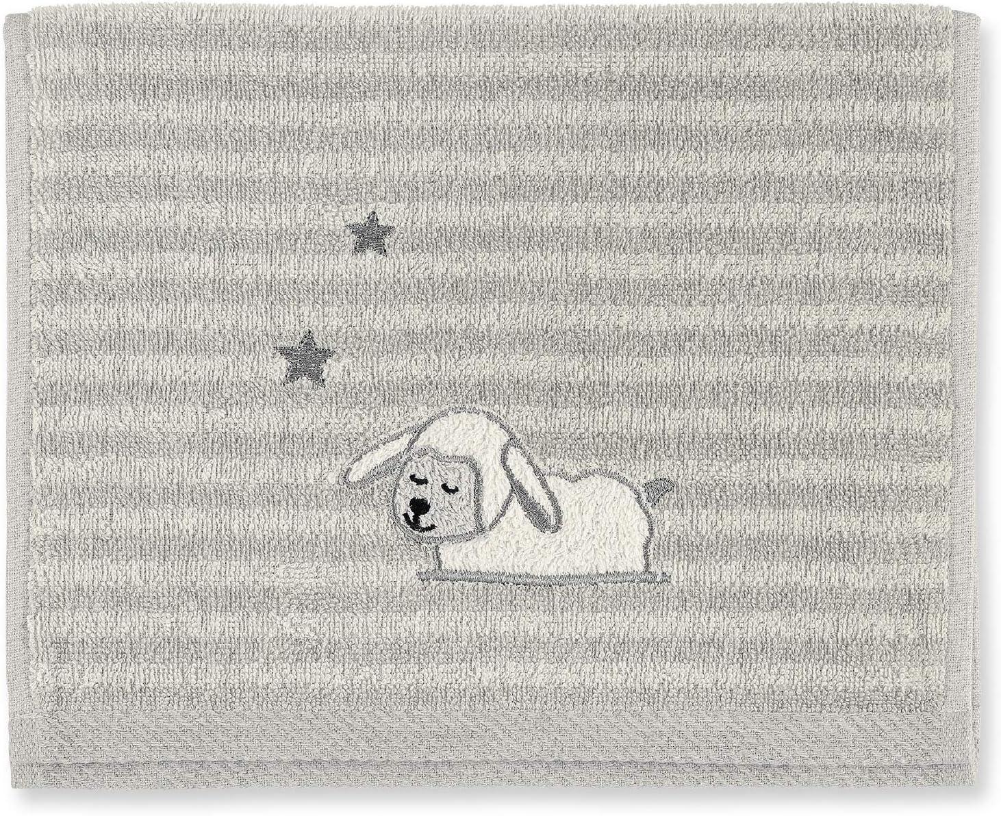 Beige Sterntaler Asciugamano per bambini Edda La Paperella Et/à: Per neonati 30 x 50 cm