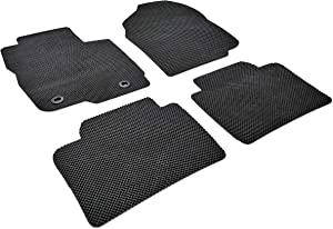 Autotech Park Custom Fit Car Floor Mat Compatible with 2014-2018 Kia Compatible withte Sedan and Koup and Hatchback, All Weather Heavy Duty Floor Mat Set