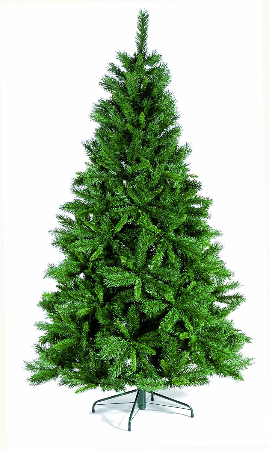 1.5m (5ft) artificial 'Princess' green pine Christmas tree (409 tips)