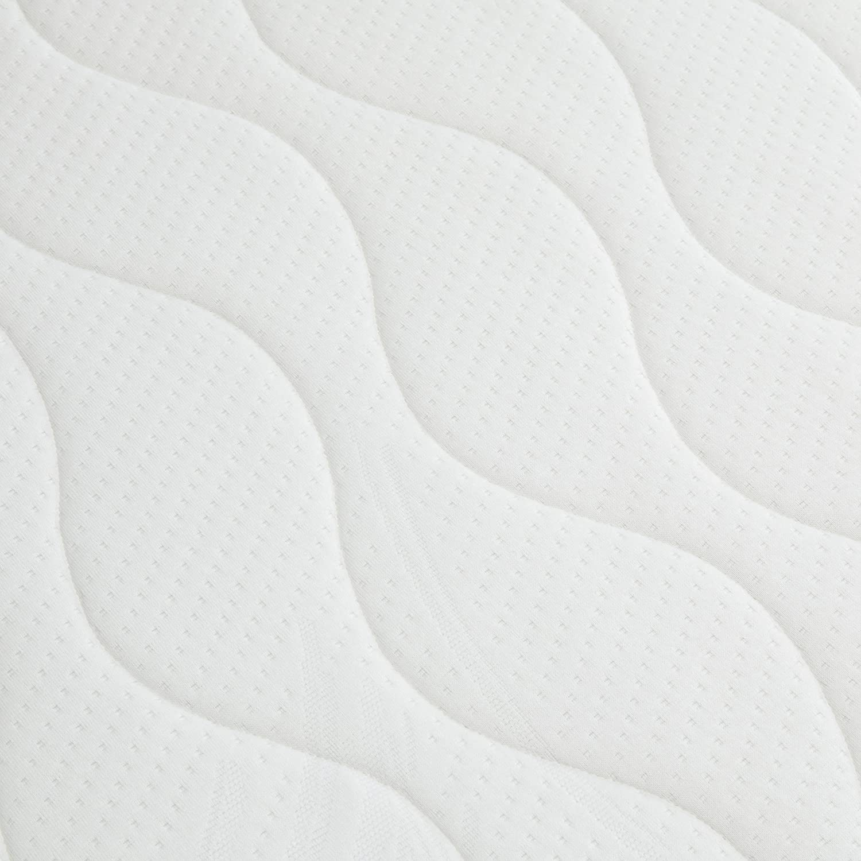Amazon Basics, Cuero PU, PVC, Espuma, Metal, Blanco, 90 x 190 ...