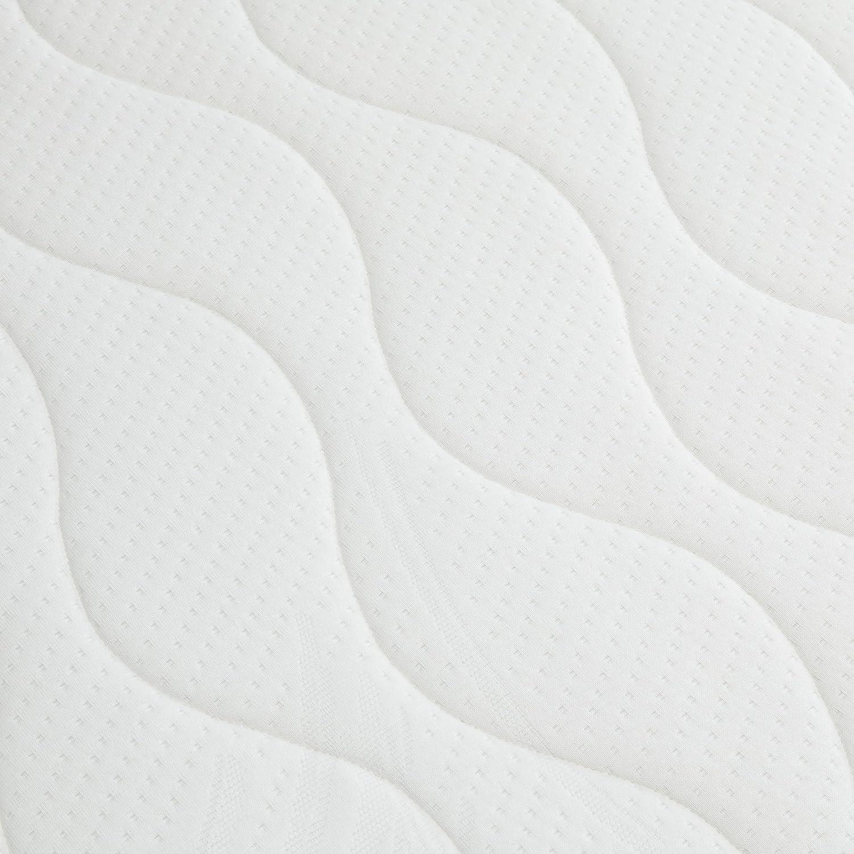 AmazonBasics Extra-Komfort Kaltschaum, Taschenfederkernmatratze mit Kaltschaum, Extra-Komfort wendbar, 100 x 200 cm b39343