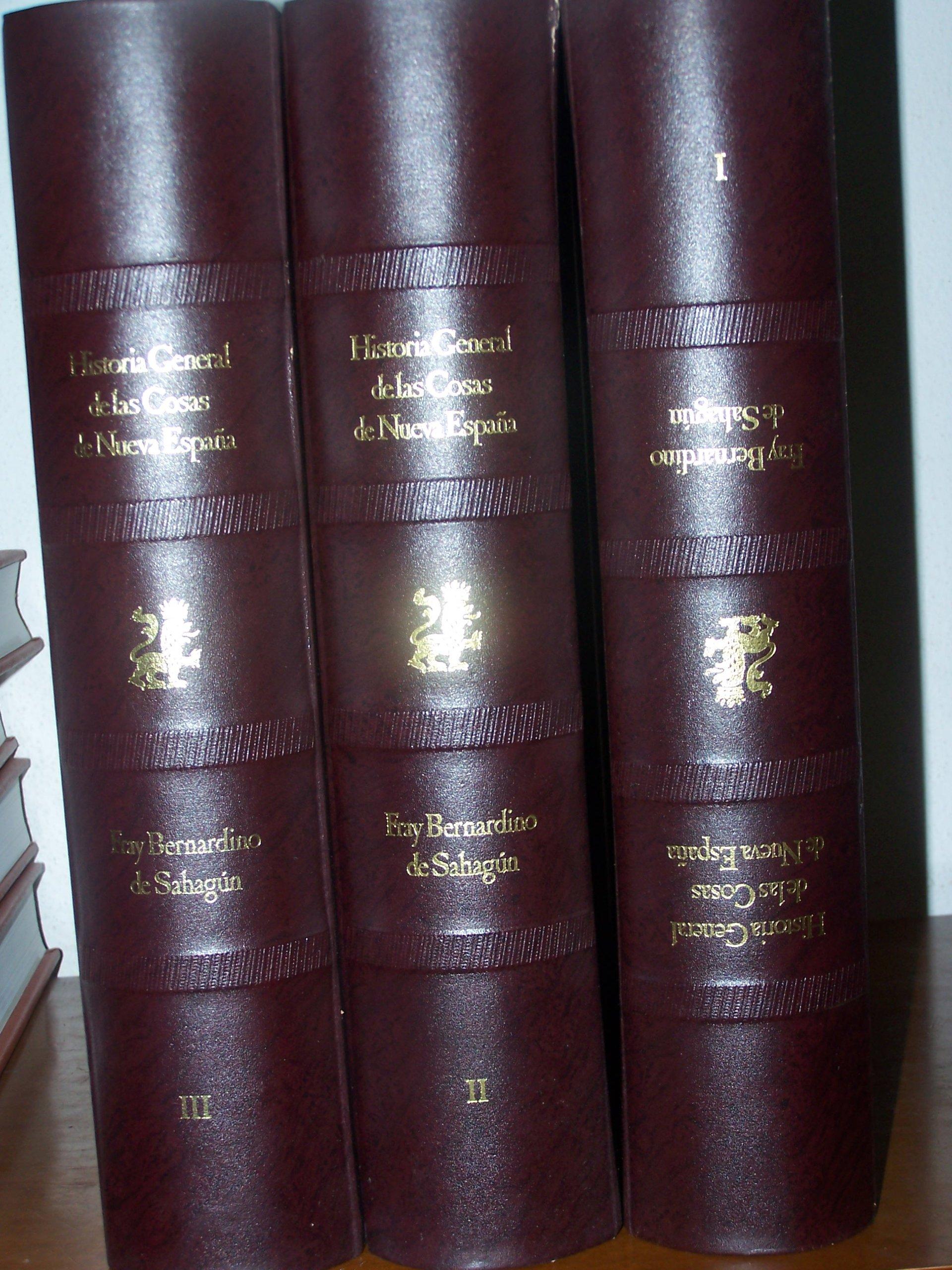 historia general de las cosas de nueva españa: Amazon.es: fray Bernardino de Sahagún: Libros