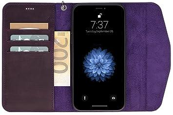307792be48eaab Solo Pelle kompatibel für das iPhone X XS abnehmbare Hülle I Lederhülle I  Tasche I