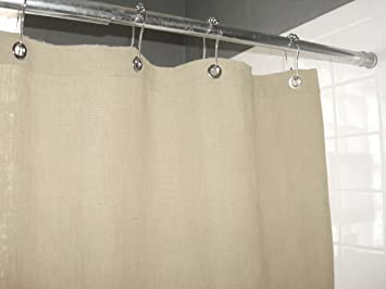Amazon Bean Products Hemp Shower Curtain Size 70 X 74 Home Kitchen