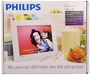 "Philips SPF4628/12 - Marco digital de 8"" (800 x 600 píxeles)"