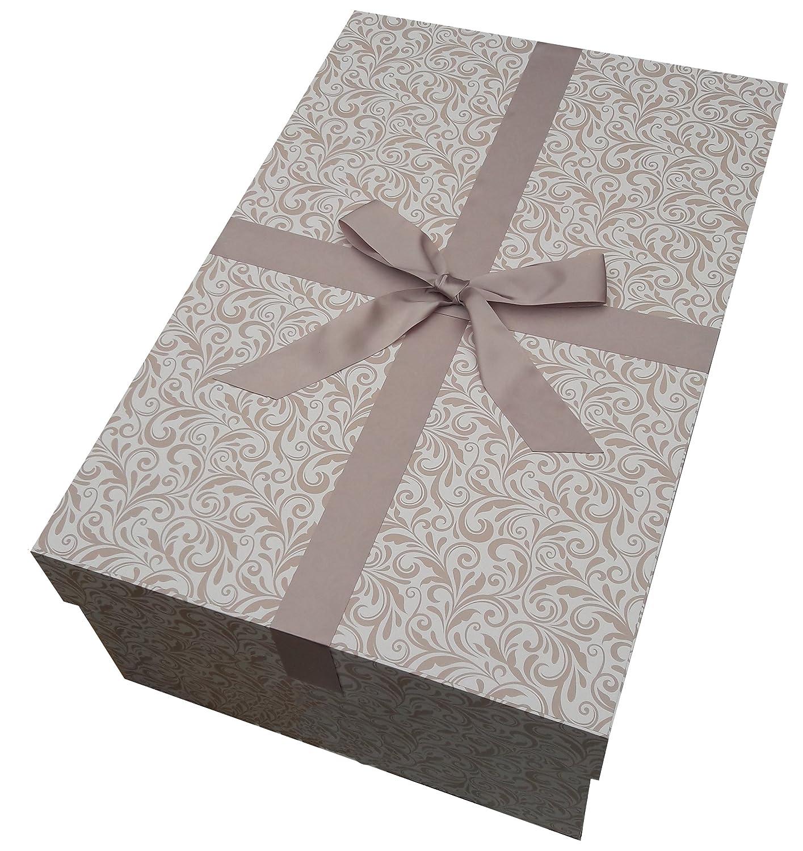 Die extragroße Brautkleidbox Perlentraum Brautkleid Box 75x50x30 cm ...