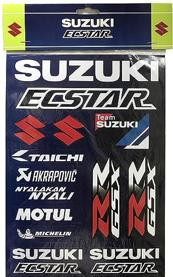 Suzuki Ecstar Motogp Team Aufkleber Set Sticker Kit