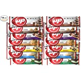 YUP BRANDS - B-UP Protein Nutritional Bar 14 Count (Variety - 2 of Each Flavor)