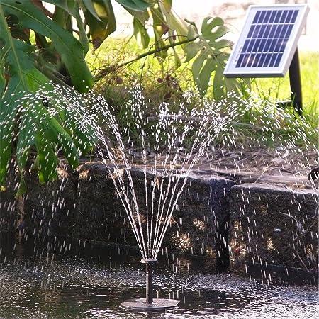 AMUR Bomba de estanque bomba de jardín bomba exterior bomba de energía solar bomba para fuente