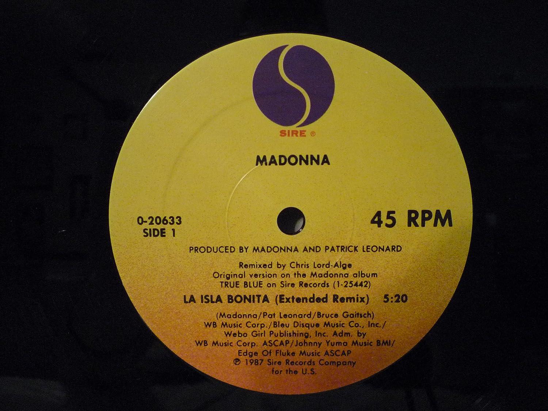 Madonna La Isla Bonita - 20633-0 - 12