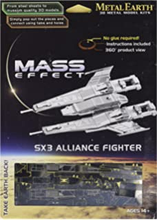 Fascinations Metal Earth Mms312 502690 Mass Effect Turian Cruiser