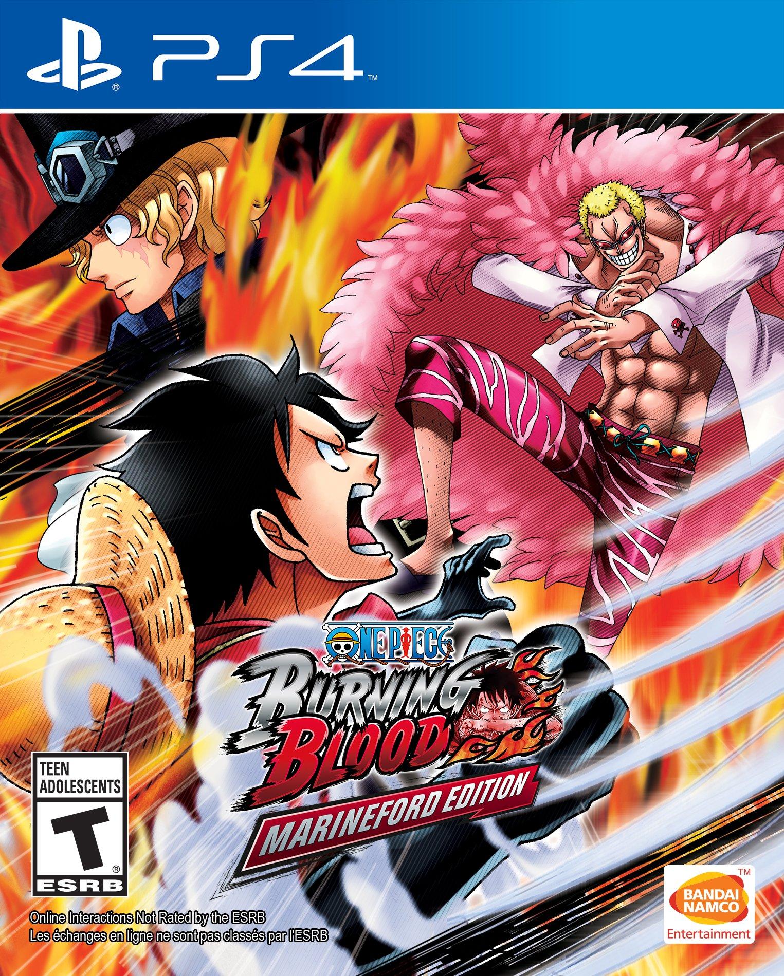One Piece: Burning Blood - Edición Marineford - PlayStation 4