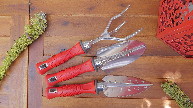 Amazon.com: Jardín comadreja de herramientas de mano, 3 ...
